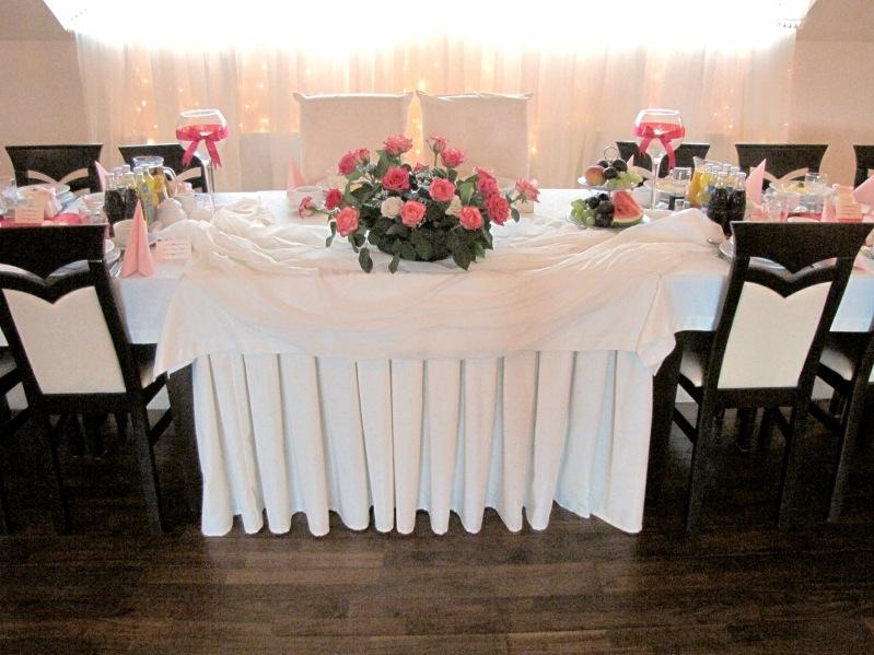 Intensywny róż - sala weselna