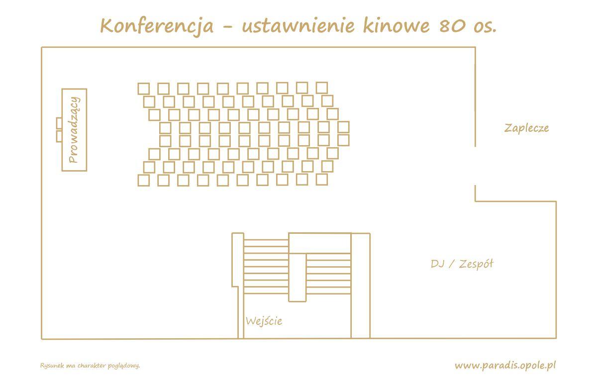 Konferencja - ustawnienie kinowe 80 os v1