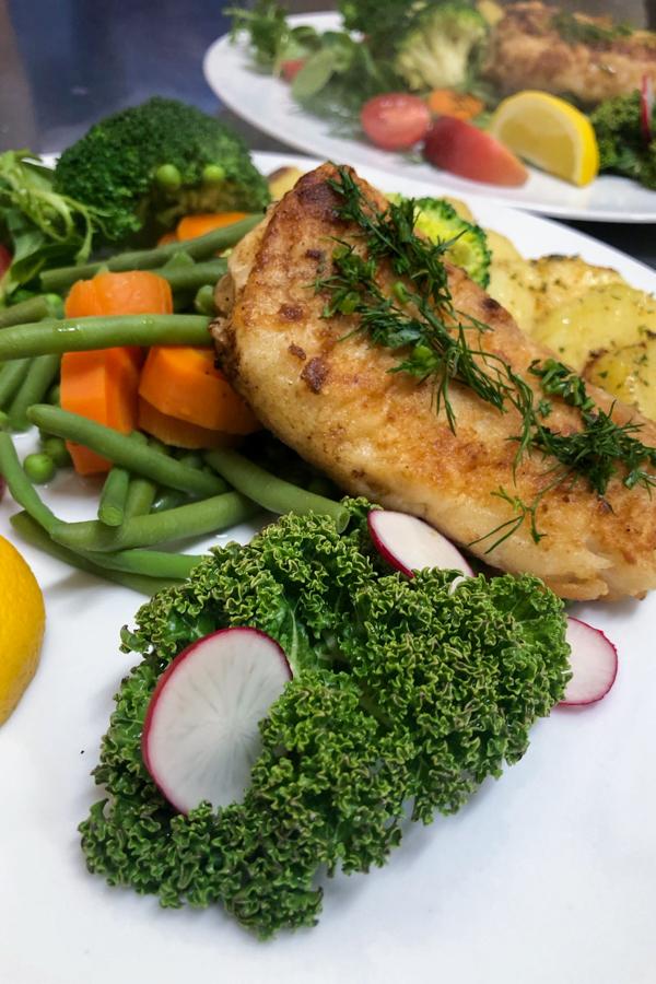 paradis opole - jedzenie w restauracji