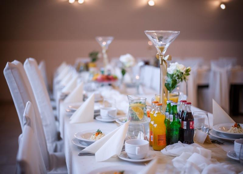Sala weselna restauracji paradis w opolu