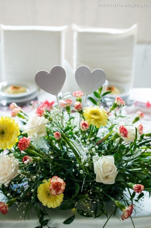 Stół Młodej Pary - sala weselna w opolu