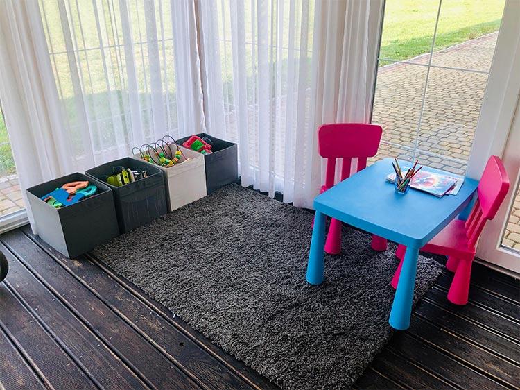 udogodnienia dla dzieci w restauracji Paradis w Opolu